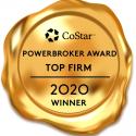Sunizo is a 2020 Top Firm CoStar Power Broker Winner